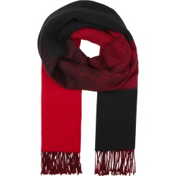 EILEEN FISHER Black Dégradé Wool-blend Scarf found on MODAPINS from Harvey Nichols for USD $154.84