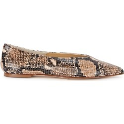 Aeyde Moa Snake-print Leather Flats found on MODAPINS from Harvey Nichols for USD $122.12