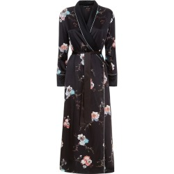 MENG Black Shawl-collared Robe found on MODAPINS from Harvey Nichols for USD $1332.81