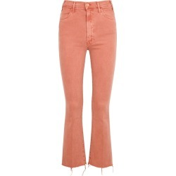 Mother Hustler Coral Cropped Jeans found on MODAPINS from Harvey Nichols for USD $319.97