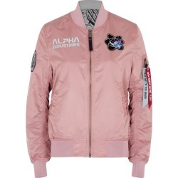 Alpha Industries MA-1 Moon Landing Reversible Bomber Jacket found on MODAPINS from Harvey Nichols for USD $252.77