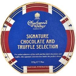 Charbonnel Et Walker Union Jack Signature Chocolate & Truffle Selection 225g found on Bargain Bro UK from Harvey Nichols