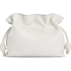 Loewe Flamenco White Leather Clutch found on MODAPINS from Harvey Nichols for USD $2005.67
