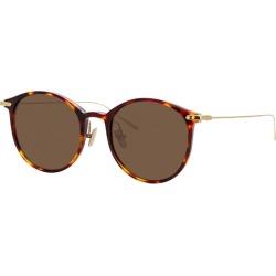 Linda Farrow Linear Tortoisehell Oval-frame Sunglasses found on MODAPINS from Harvey Nichols for USD $348.49