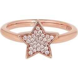 Alinka Jewellery Stasia Single Star Ring Rose Gold found on MODAPINS from Harvey Nichols for USD $1565.58