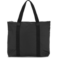 Rains Black Rubberised Tote found on MODAPINS from Harvey Nichols for USD $57.28