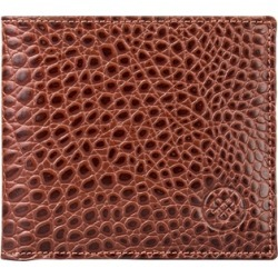 Maxwell Scott Bags Men S Mock Croc Tan Leather Wallet With Coin Pocket found on Bargain Bro UK from Harvey Nichols
