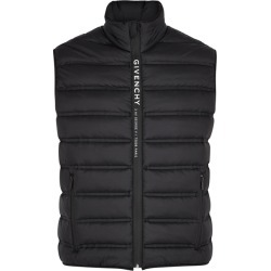Givenchy Black Quilted Shell Gilet found on MODAPINS from Harvey Nichols for USD $1257.17