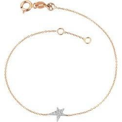 Kismet By Milka 14ct Gold Diamond Bracelet found on Bargain Bro UK from Harvey Nichols