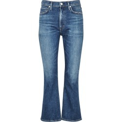 Citizens Of Humanity Demy Cropped Flared Jeans found on MODAPINS from Harvey Nichols for USD $393.90