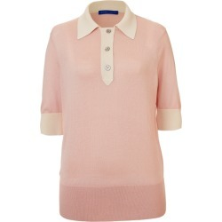 Winser London Silk Cotton Polo Shirt found on MODAPINS from Harvey Nichols for USD $129.29
