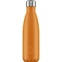 Chilly's Neon Orange Reusable Bottle 500ml found on Bargain Bro UK from Harvey Nichols