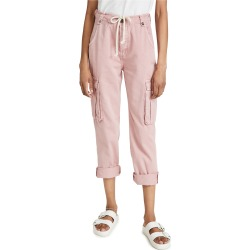 One Teaspoon Dirty Pink Cargo Safari Mid Waist Relaxed Jeans found on MODAPINS from shopbop for USD $190.00