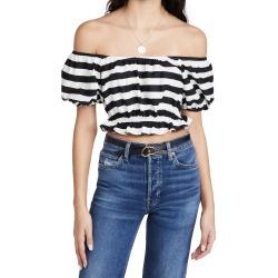 Caroline Constas Bardot Crop Top found on MODAPINS from shopbop for USD $215.00