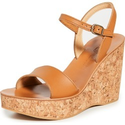 K. Jacques Sharon Wedge Sandals found on MODAPINS from shopbop for USD $89.60