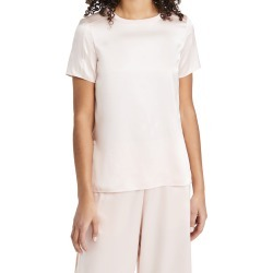 Adam Lippes Crew Neck T-Shirt In Silk Satin found on MODAPINS from shopbop for USD $590.00
