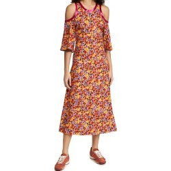Marni Floral Cold Shoulder Dress found on MODAPINS from shopbop for USD $1590.00