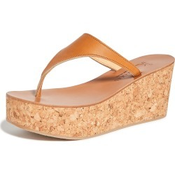 K. Jacques Leda Thong Wedges found on MODAPINS from shopbop for USD $137.20