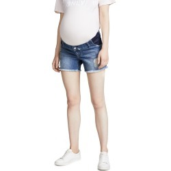 DL1961 Karlie Boyfriend Maternity Shorts found on MODAPINS from shopbop for USD $128.00