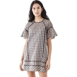 Club Monaco Check Swing Dress found on MODAPINS from shopbop for USD $201.75