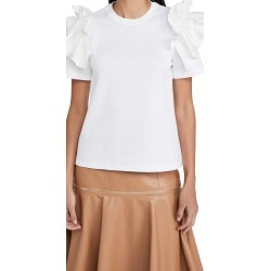 Adeam Ruffle T-Shirt found on MODAPINS from shopbop for USD $158.00