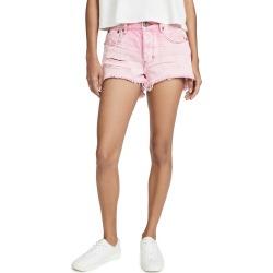 One Teaspoon Evil Eye Le Wolves Mid Waist Denim Shorts found on MODAPINS from shopbop for USD $86.40