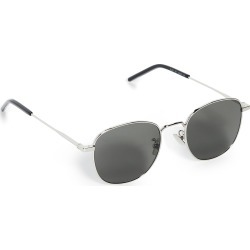 Saint Laurent Classic Soft Square Metal Sunglasses found on Bargain Bro from shopbop for USD $300.20