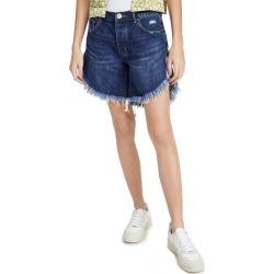 One Teaspoon Dakota Frankies Long Length Cutoff Denim Shorts found on MODAPINS from shopbop for USD $110.00