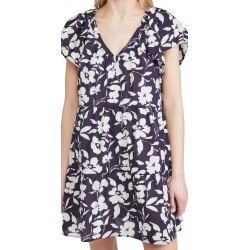 Velvet Floral Dress found on MODAPINS from shopbop for USD $106.20