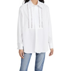 Area Tuxedo Bib Blouse found on MODAPINS from shopbop for USD $680.00