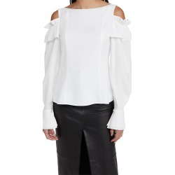Adeam Ruffle Shoulder Top found on MODAPINS from shopbop for USD $358.00