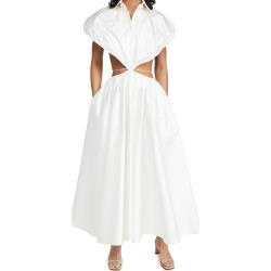 Brandon Maxwell Shirtdress with Waist Cutout found on MODAPINS from shopbop for USD $1890.00