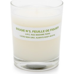 A.P.C. Bougie No. 5 Feuille de Figuier Scented Candle found on Bargain Bro Philippines from shopbop for $50.00
