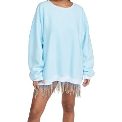 Baja East Dropped Shoulder Crew Dress with Fringe found on MODAPINS from shopbop for USD $425.00