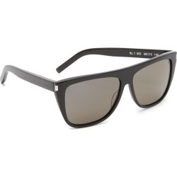 Saint Laurent SL 1 Mineral Glass Sunglasses found on Bargain Bro from shopbop for USD $307.80