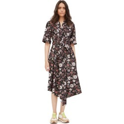 Adam Lippes Asymmetrical Dress In Printed Poplin found on MODAPINS from shopbop for USD $1190.00