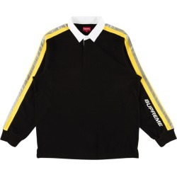 Supreme Reflective Sleeve Stripe Rugby 'SS 18' - Large found on Bargain Bro India from Stadium Goods for $309.00