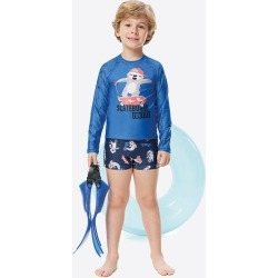 Conjunto Infantil Dry Estampado Malwee Liberta Azul Escuro - 12 found on Bargain Bro Philippines from Malwee Malhas for $68.56