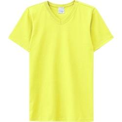 Camiseta Amarela Meia Malha Malwee Kids Amarelo - 1 found on Bargain Bro Philippines from Malwee Malhas for $14.66