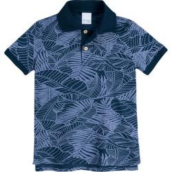 Camisa Polo Slim Pais & Filhos Malwee Kids Azul Escuro - 10 found on Bargain Bro India from Malwee Malhas for $34.26