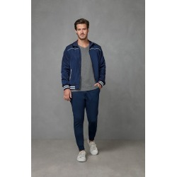 Jaqueta Bomber Com Bolsos Malwee Azul Escuro - P found on Bargain Bro India from Malwee Malhas for $127.36