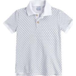 Camisa Polo Slim Pais & Filhos Malwee Kids Branco - 1 found on Bargain Bro India from Malwee Malhas for $34.26