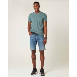 Bermuda Slim Jeans Masculina Malwee Azul Claro - 48 found on Bargain Bro India from Malwee Malhas for $66.11