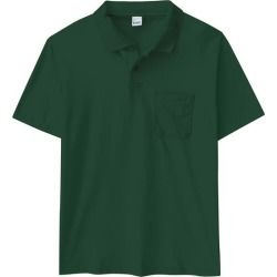 Camisa Polo Tradicional Com Bolso Wee! Verde Escuro - M found on Bargain Bro India from Malwee Malhas for $19.56
