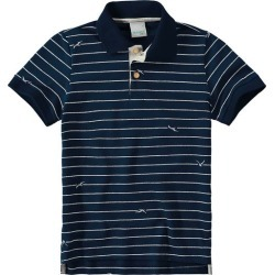 Camisa Polo Tradicional Menino Malwee Kids Azul Escuro - 2 found on Bargain Bro India from Malwee Malhas for $19.56