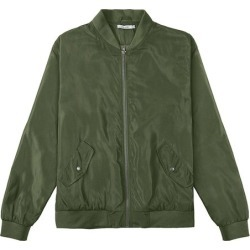 Jaqueta Bomber Com Bolsos Malwee Verde Escuro - G found on Bargain Bro India from Malwee Malhas for $117.56