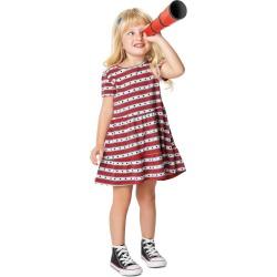 Vestido Peplum Listrado Menina Malwee Kids Vermelho - 2 found on Bargain Bro India from Malwee Malhas for $14.66