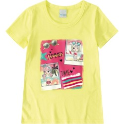 Blusa Estampada Sun Off Menina Malwee Kids Amarelo - 1 found on Bargain Bro India from Malwee Malhas for $9.76
