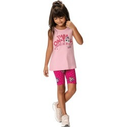 Conjunto L.O.L.® Menina Malwee Kids Rosa Claro - 4 found on Bargain Bro Philippines from Malwee Malhas for $24.46
