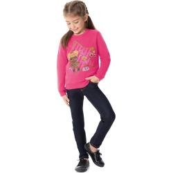 Calça Jeans Tradicional Cintura Média Malwee Kids Azul Escuro - 4 found on Bargain Bro India from Malwee Malhas for $24.46